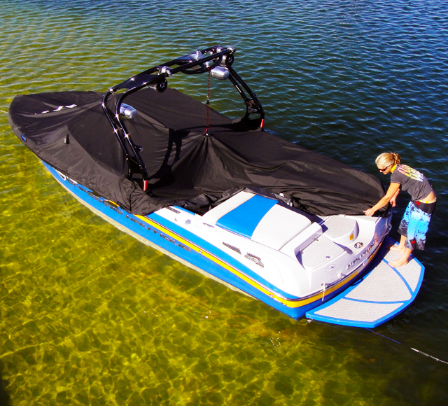 Hangtyte Boat Cover Suspension Device Hangtyte