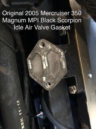 Mercruiser 350 Magnum MPI Black Scorpion Air Idle Valve