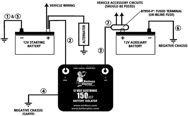 dual battery wiring  centurion boat accessories