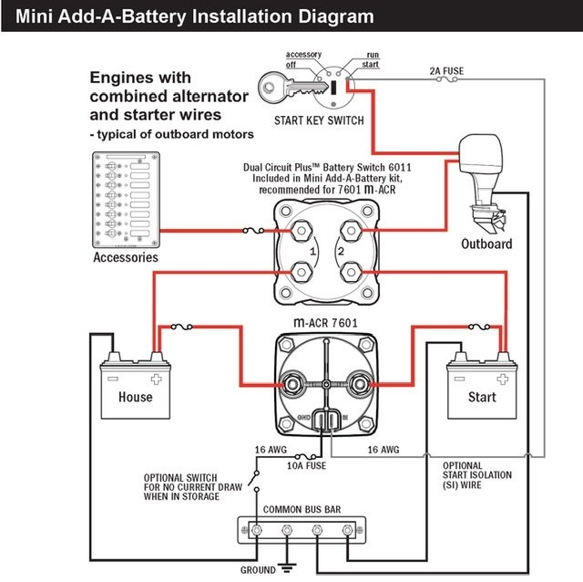 Dual Battery Wiring - Centurion Boat Accessories, Electronics and  Modifications - Centurion and Supreme Boat Fanatics: CenturionCrew™ Forums | Two Battery Wiring Diagram Motor |  | Centurion Crew